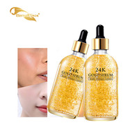 2019 HOT Anti Wrinkle Anti Aging Pure Essence 24k Gold Serum For Beauty Face Skin Care 30ml whitening serum