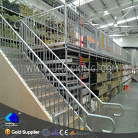 Multi-Level Warehouse High Rise Steel Working Platform