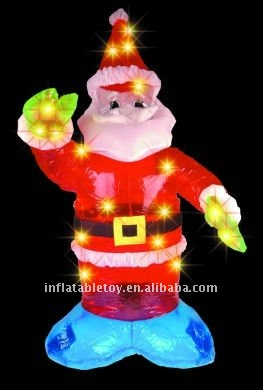 christmas decoration inflatable with LED light