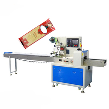 Lange noodle pasta spaghetti <span class=keywords><strong>verpakkingsmachine</strong></span> popsicle candy eiwit energie bars verpakking machine kleine flowpackmachine