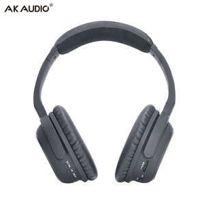 OEM ODM Noise Cancelling Headphones Bluetooth Wireless with CSR BT5.0 Chipset Mic Active ANC Customize Design Black Comfortable
