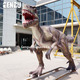 Large dinosaur model artificial fiberglass dinosaurs