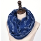 Fashion Women tribal wholesale infinity words print music scarf