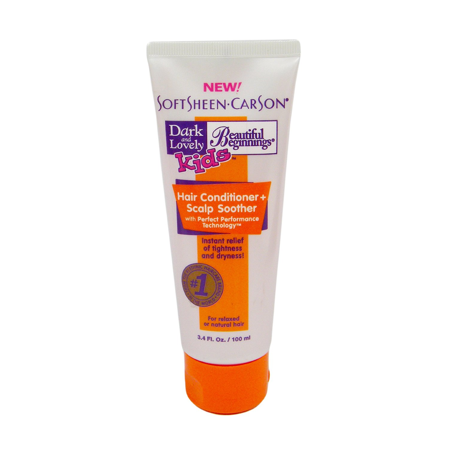 Dark and Lovely Kids Beautiful Beginnings Hair Conditioner + Scalp Soother 3.4oz