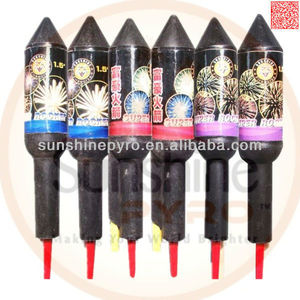 chinese wholesale thunder rockets fireworks for sale
