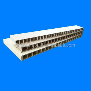 Pvc Wpc Foaming Hollow Board Panel Extrusion Mould Tools