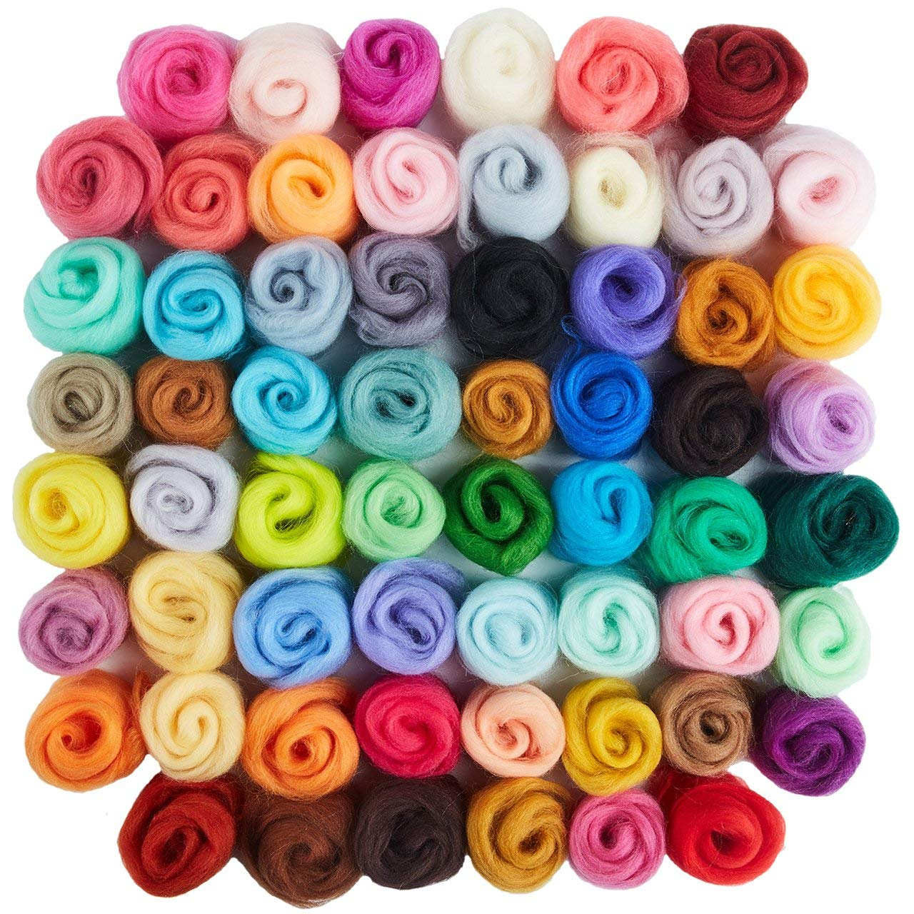 Including 6 Colors 60 Sets Leather Rivets with 4Pcs Fixing Tools and Soft Tape Measure Metal Button Leather Snap Fasteners Press Studs Kit for Clothes Swpeet 65Pcs 12.5mm Leather Snap Fasteners Kit