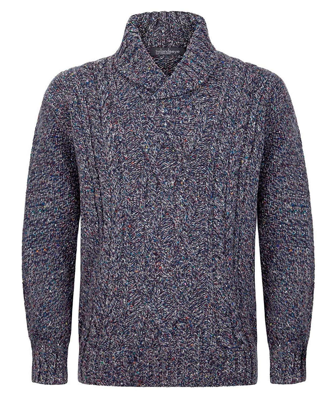 d257116f90b Get Quotations · Ireland s Eye Mens Irish Wool Sweater