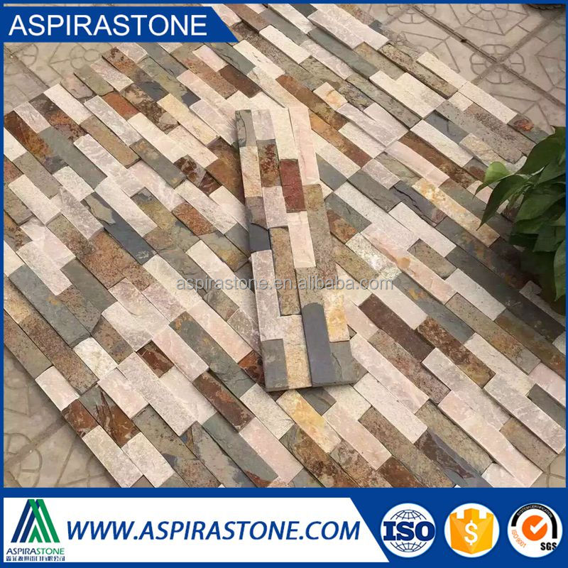 cheap roof tiles yellow slate stone
