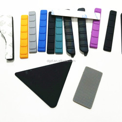 Various shapes adhesive silicone bumper pads