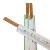 21Cm Disposable Sushi Personalized Carbonized Bamboo Tensoge Chopsticks