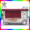 USA food truck venda mobile kitchen trailer burger van for sale Uranus-SRJJRH(L)