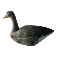 Newly designed EVA goose decoy for hunting, hot selling collapsible hunting goose, factory direct supply
