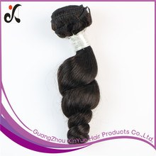 Cheap Natural Loose Wave 100 Remy Indian Human Hair Weave, Virgin Indian Hair From India