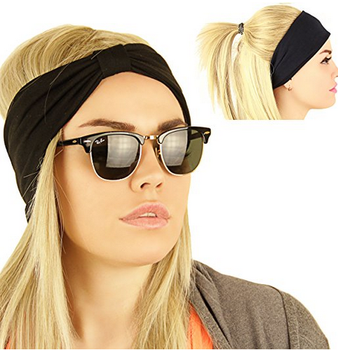 Women Headbands Nonslip Moisture Wicking Elastic Sports Headband sweatband.  View larger image e6a67a9e623