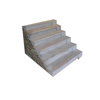 China Export Building Materials White Granite Stone Steps For Outdoor Stairs