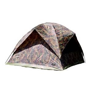 Texsport Headquarters Camouflage 4 Person Square Dome - Tent