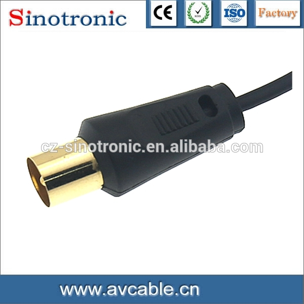 stainless steel 304 convert hdmi to av cable from sinok