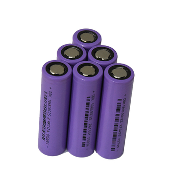 customized rechargeable lithium ion battery cell 18650 3.7V 2500mAh for electronic product