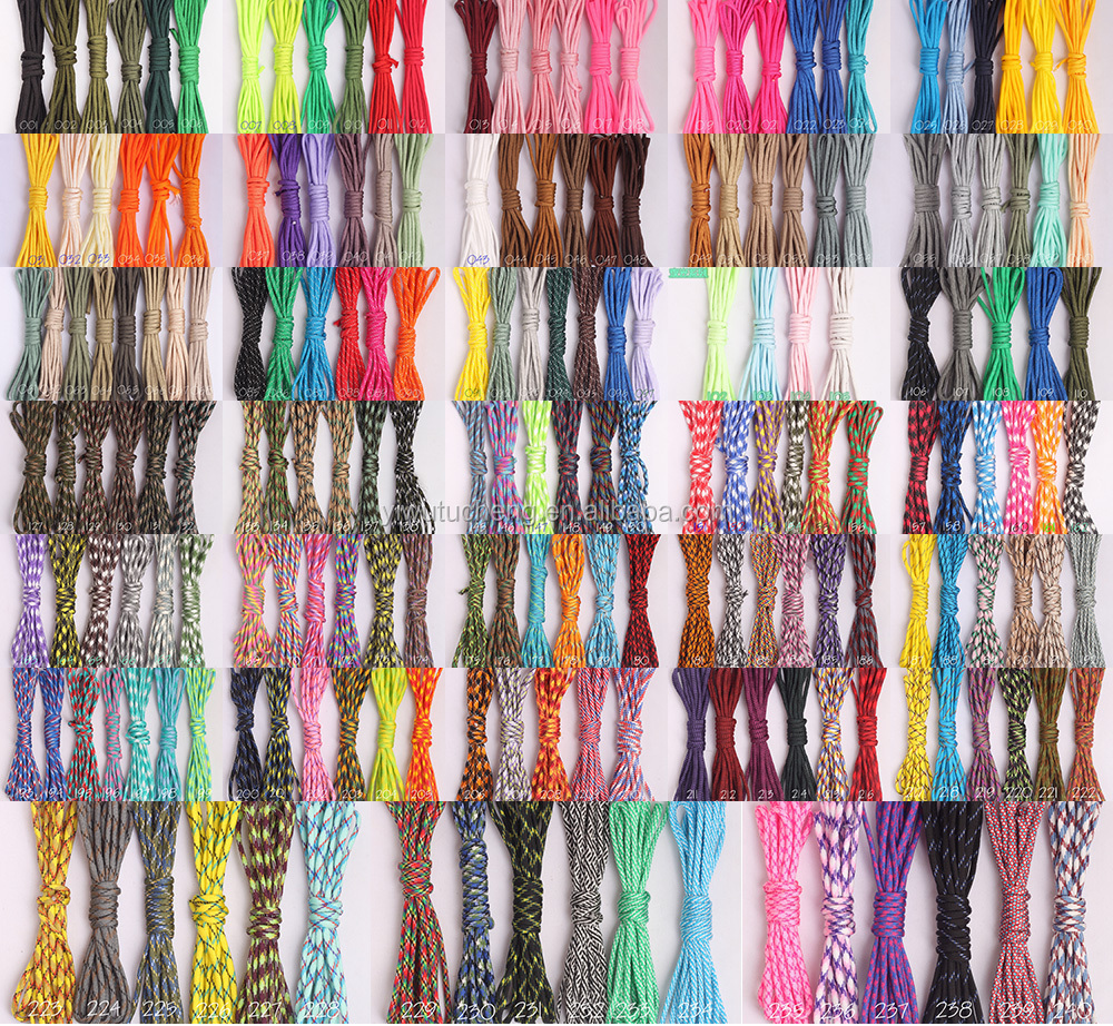Wholesale 100FT 550 Paracord Parachute Cord Lanyard Rope Mil Spec Type III 7Strand Climbing Camping survival equipment