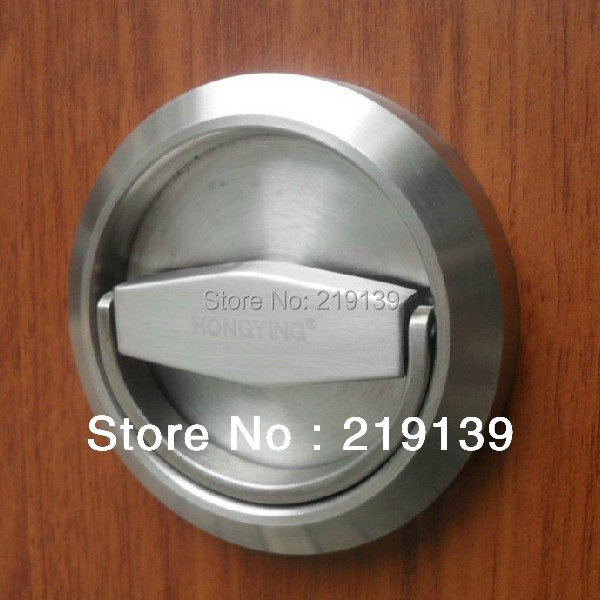 Stainless Steel Furniture Cabinet Recessed Cup Lock Door