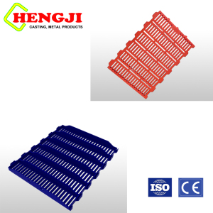 firm Easy to clean Plastic slats for gestation stall
