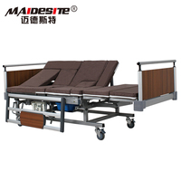 Hospital Bed Assembly Part Type Medical Nursing Care Bed Aluminium Alloy Side Rails