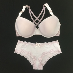 Zuomay OEM classic women cotton girls hot sexy cute girl photo bra and  panty set a6a6fb2ea