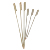 golf bamboo skewers with handle