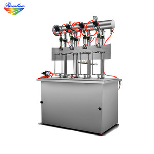 Factory price pneumatic small beer bottling machine