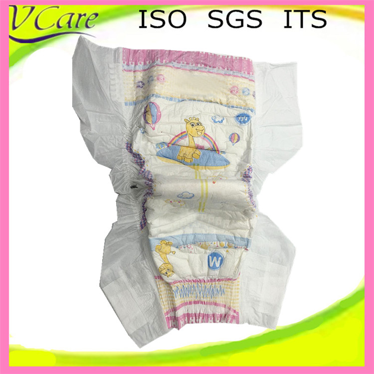 100 cotton sleepy disposable baby diapers made in China