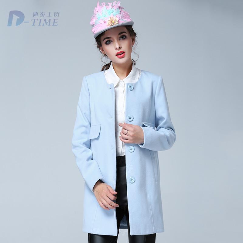 8ae6d91017a08 manteau femme bleu ciel,Carven Manteau droit en laine vierge bouillie femme  Bleu ciel Vestes et mant