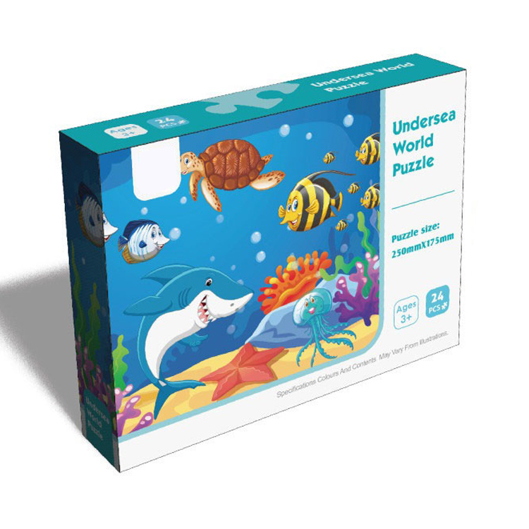 Customized Undersea World Educational Toys 2019 Jigsaw Puzzle for Kids
