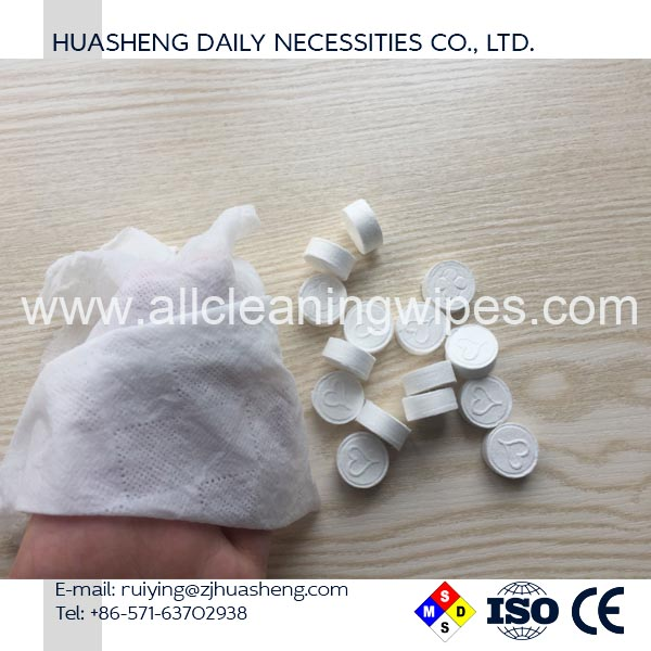 Wholesale Magic Towel Compressed Coin Tissue/Towel
