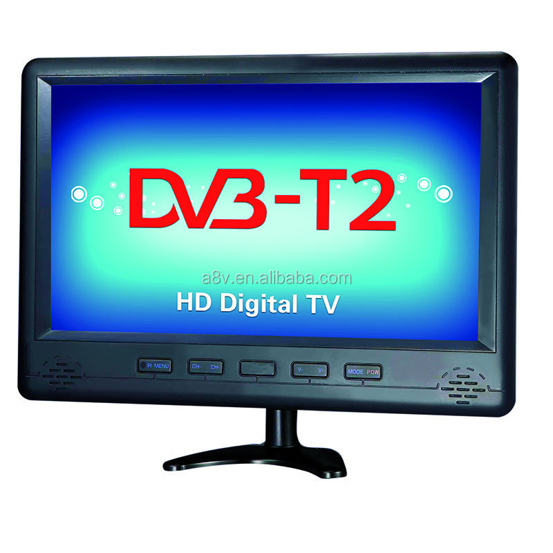 17 inch solar powered tv with dvb-t2 digital function