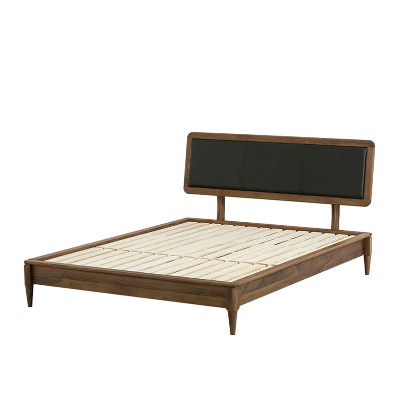 Twin full modern king size sleeping double design furniture wooden frame <strong>bed</strong>