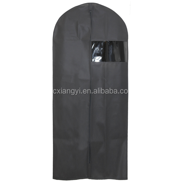 """Noir 52/"""" Costume Transporteur Vêtement Housse Sac Voyage solide en nylon tissé Léger"""