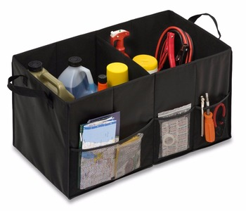 Collapsible Car Trunk Storage Containers,Portable Folding Vehicle Organizer  Box