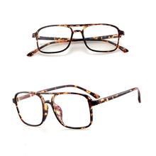 Новые оптические очки в большой оправе модные классические прозрачные линзы для близорукости женские мужские ультралегкие очки(Китай)