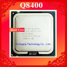 Lifetime warranty Core 2 Quad Q8400 2.66GHz 4M Four nuclear threads desktop processors CPU Socket LGA 775 pin Computer