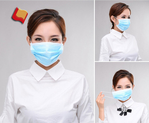 Scented Medical Consumables Nonwoven Disposable Face Mask