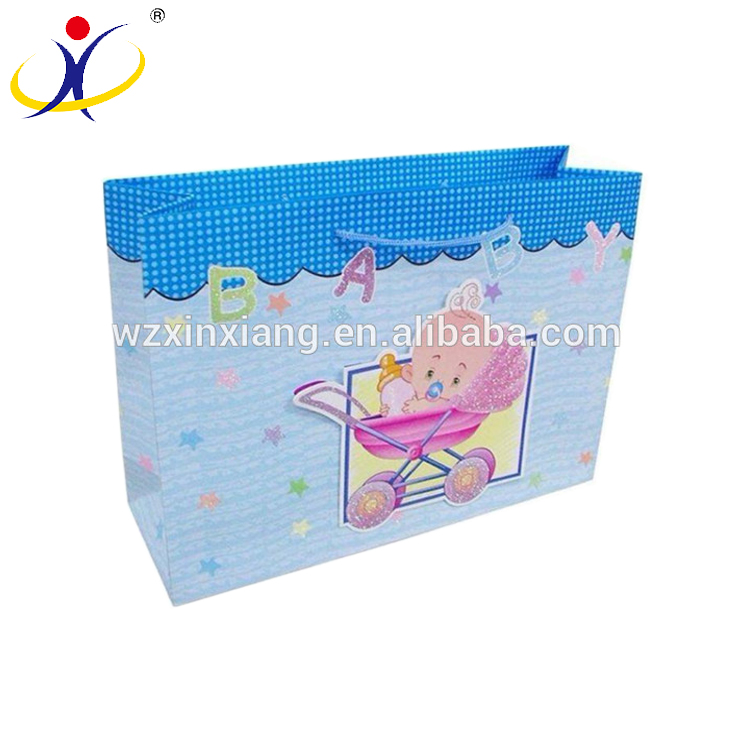 Accept Custom Cheap Christmas Gift Bag Paper Carry Bag Paper Bags