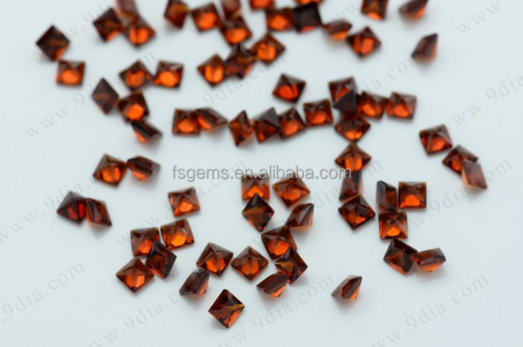 Wholesale Good Quality Low Cost Round Natural Red Garnet Stone Price