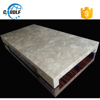 Wholesale High Quality New Design Square Marble Tea Table For Living Room