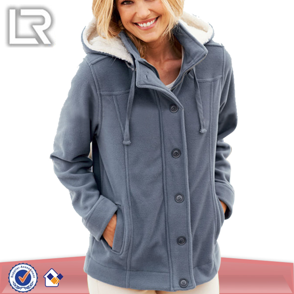 Womens Fleece Jacket - Coat Nj