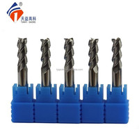 HRC55 Degree Customized Spiral Long Flute Flat End Milling Bit