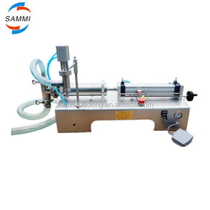 100% Warranty Pneumatic control alcoholic/ beverage/oil/shampoo filling machine