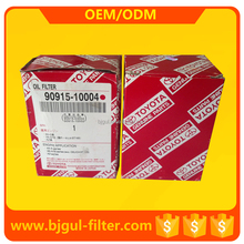 Used for automotive engine best oil filter OEM NO. 90915-10004
