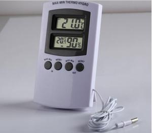 Electronic Max/min Indoor Outdoor Temperature Thermometer Hygrometer