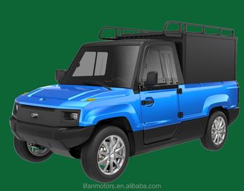 Single Row Comfort Cargo Electric Mini Van Lifan C3 Electric Pickup Truck -  Buy Electric Pickup Truck,Electric Mini Van For Sale,Mini Delivery Van